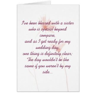 Maid Of Honor Invitation