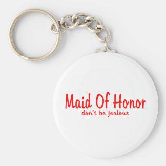 Maid Of Honor Jealousy Key Ring
