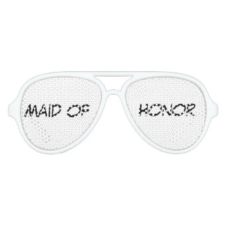 """Maid of Honor"" Party Shades"