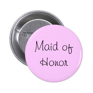 Maid of Honor Pin