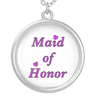 Maid of Honor Simply Love Pendant