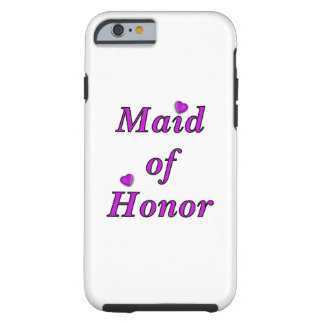 Maid of Honor Simply Love Tough iPhone 6 Case