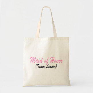 Maid Of Honor (Team Leader) Tote Bag