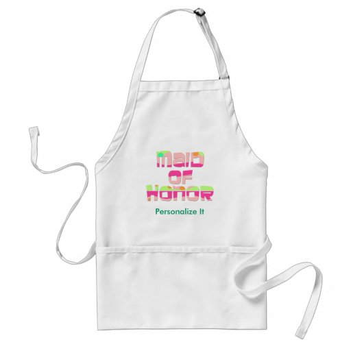 Maid of Honor Tees and Gifts Aprons
