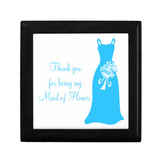Maid of Honor Thank you Box Small Square Gift Box
