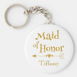 Maid of Honor Wedding Gifts Key Ring