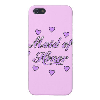 Maid of Honor Wedding Hearts Case For The iPhone 5
