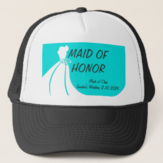 Maid of Honor's Casual Hat