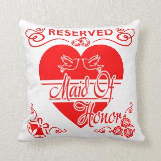 Maid of Honor's  Wedding Cushion