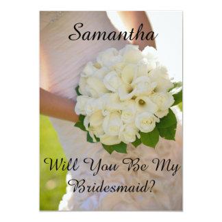 Maid of Honour Or Bridesmaid Card