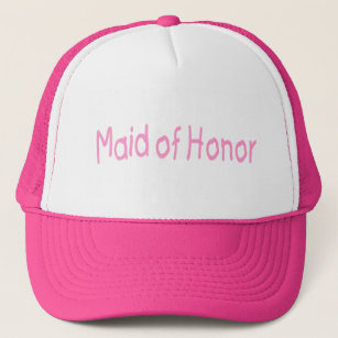 Maid Of Honour (Pink) Trucker Hat