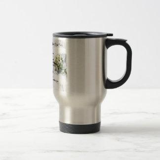 maid of honour poem - Wedding Bouquet design Stainless Steel Travel Mug