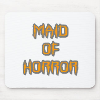Maid of Horror Mouse Pad