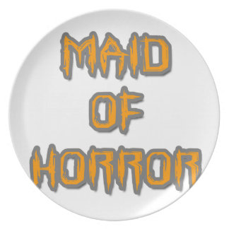 Maid of Horror Plate