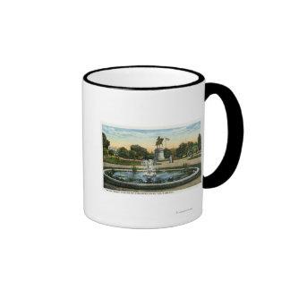 Maid of the Mist Fountain, Washington Statue Coffee Mugs