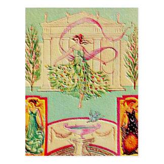 Maiden Goddess Athena Postcard