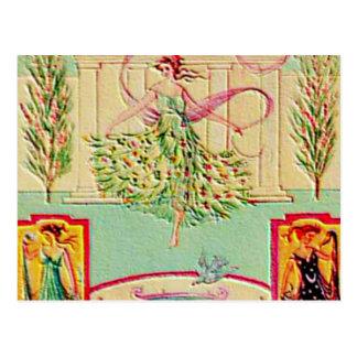 Maiden Goddess Athena Post Cards
