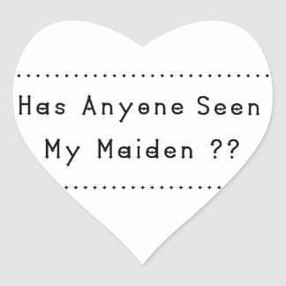Maiden Heart Sticker