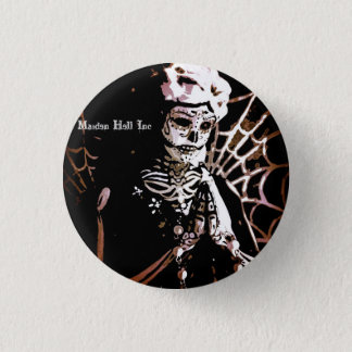Maiden Hell Inc Angel Button Los Muertos