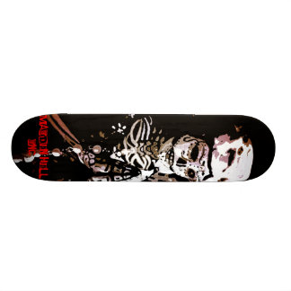 Maiden Hell Inc Day of the Dead Skateboard