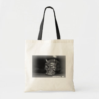 Maiden Hell Inc Skull Tote Bag