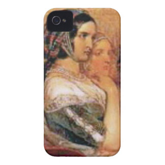 maiden in bonnet Case-Mate iPhone 4 case