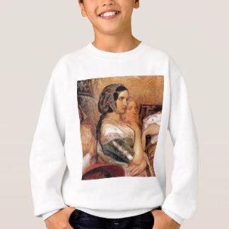 maiden in bonnet sweatshirt