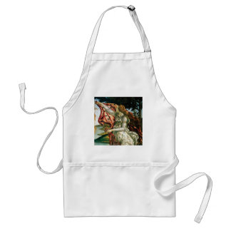 maiden in dress laundry standard apron