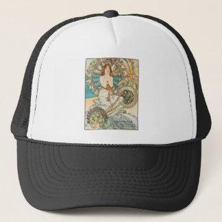 Maiden in Prayer Trucker Hat