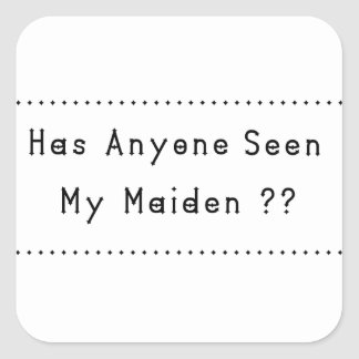 Maiden Square Sticker