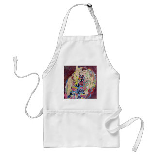 Maiden (Virgin), Gustav Klimt, Vintage Art Nouveau Standard Apron