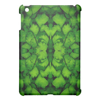 Maidenhair Fern Abstract iPad Cover