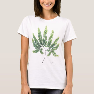 Maidenhair Fern Large Print T-Shirt