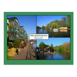 Maidenhead Riverside Postcard