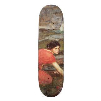 Maidens Picking Flowers by John William Waterhouse Custom Skate Board