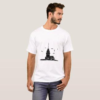 Maiden's Tower White T-Shirt for Men