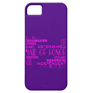 Maids of Honor Wedding Party Favors : Qualities iPhone 5 Cover