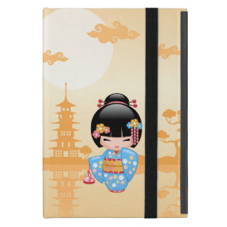 Maiko Kokeshi Doll - Cute Japanese Geisha Girl iPad Mini Case