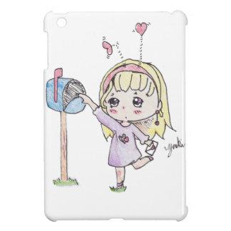 mail box girl iPad mini covers