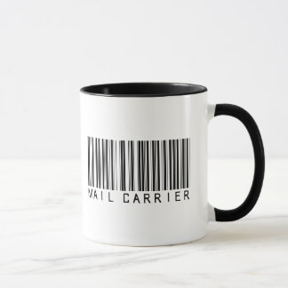 Mail Carrier Bar Code Mug