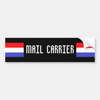 MAIL CARRIER BUMPER STICKER