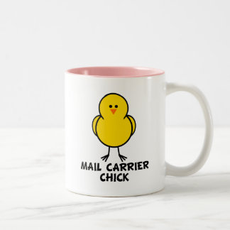 Mail Carrier Chick Mugs
