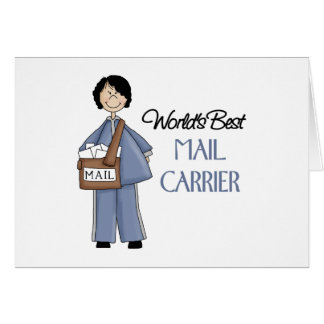 Mail Carrier Gift Greeting Card