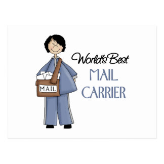 Mail Carrier Gift Postcard