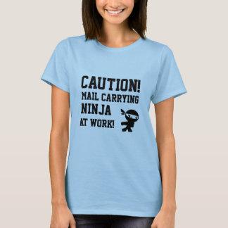 Mail carrier Ninja T-shirt