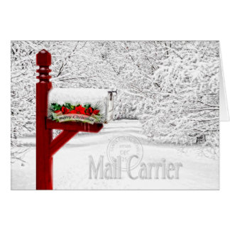 Mail Carrier / Postal Worker Christmas Card