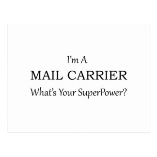 MAIL CARRIER POSTCARD