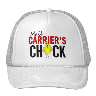 MAIL CARRIER'S CHICK MESH HATS