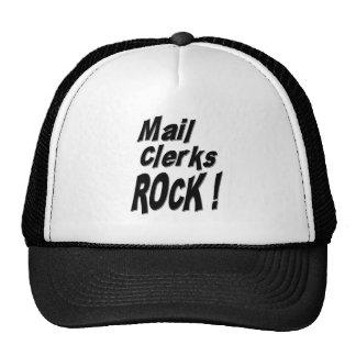 Mail Clerks Rock! Hat