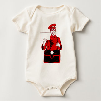 Mail delivery baby bodysuit